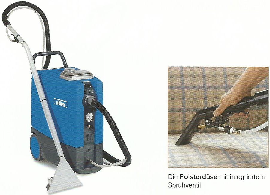 Reinigungsmaschinen Sprühextraktion